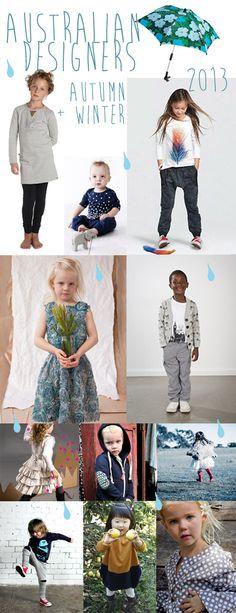 KidStyleFile Moodboard June 2013: Enjoy A Fashionable { Australian Designer } Winter
