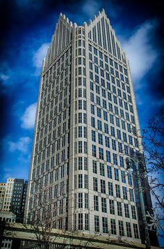One Detroit Center | 500 Woodward Ave, Detroit | Architects: Philip Johnson, John Burgee