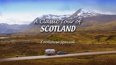 The ultimate road trip: A Classic Tour of Scotland, visiting and walking in some of the best tourist sites in the country. Join the UK filmmakers as they visit Edinburgh, the Highlands, Isle of Skye, lochs and castles in their 1969 Caravel. Included with your Prime subscription. #tv travel #scotland #airstream #walking #hiking #edinburgh #glasgow #scottish #highlands #castle Scotland Tours, Scotland Travel, Visit Edinburgh, British Travel, Tourist Sites, Vintage Airstream, Scottish Highlands, Great Britain, Glasgow