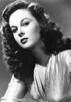 Susan Hayward - They don't make them like this anymore. Hollywood Stars, Golden Age Of Hollywood, Vintage Hollywood, Hollywood Glamour, Hollywood Actresses, Classic Hollywood, Actors & Actresses, Classic Actresses, Classic Films