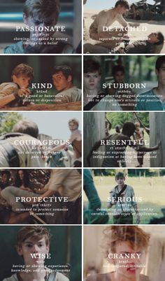 #TheMazeRunner #TheScorchTrials - Newt´s strengths and weaknesses. The last one was uncalled for