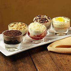dolcini mini dessertso many ideas to serve for individual appeal olive garden - Olive Garden Morgantown Wv