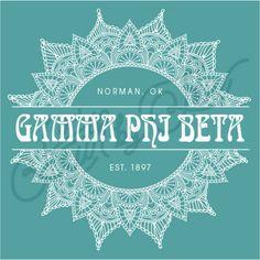 Gamma Phi Beta   G Phi B   Henna Design   Mandala Design   Medallion Design…