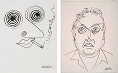 alexander calder wire sculptures The work on the left is clrearly influenced by the dada movement wich Calder knew when he moved to paris