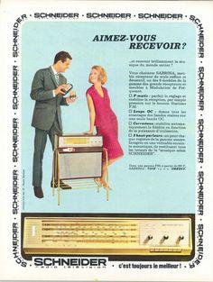Sabrina, meuble récepteur Schneider - Jours de France, 14 novembre 1964