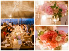 Elegant Country Wedding: Tented Reception