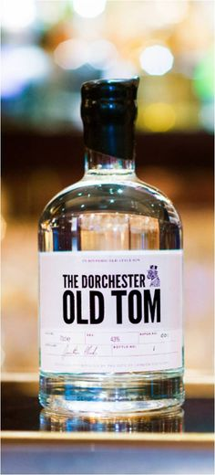 The Dorchester Old Tom Gin, exclusively available at The Bar at The Dorchester #Gin #Giuliano #OldTomGin @The Dorchester