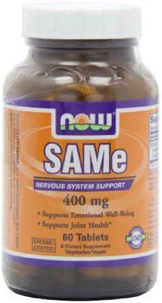 Now Foods Sam-e Tablets, Vegan Vegetarian, Vegetarian Recipes, Sam E, Folic Acid, Amino Acids, Serving Size, Fibromyalgia, Vitamins, Nutrition