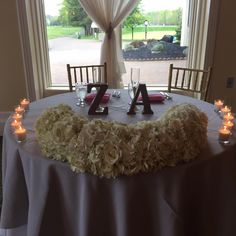 Elegant Wedding Sweetheart Table| Sweetheart Table Decor Ideas| White Flower Sweetheart Table| South Jersey Wedding Venue