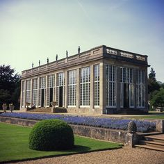 I did think about a greenhouse, though not quite this spectacular...