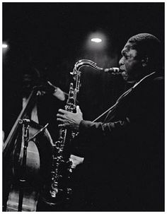 John Coltrane by Lee Tanner
