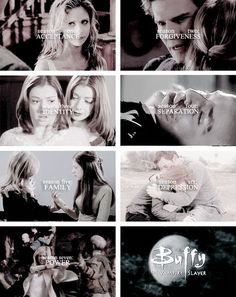 Buffy the Vampire Slayer + Season themes