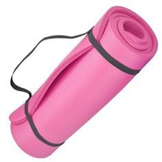 Pink Exercise Yoga Mat | Home Fitness