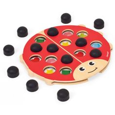 wonderful gift from age 2, fine motor, memory, recognition, shapes, colours matching and taking turns #Entropywishlist #pintowin