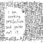 Letting go of the perfectionist within