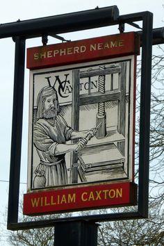 William Caxton, Tenterden. | From PaddyB