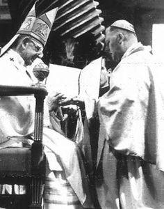 Blog de Santo Afonso: Dom Aloísio Lorscheider com o Papa Paulo VI - Card...