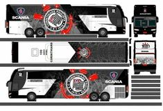 Onibus Marcopolo, Paper Models, Volvo, Transportation, Vehicles, Road Transport, Cardboard Car, Paper Toys, Fun Crafts