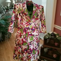 SKIRT, JACKET AND TEE 3 For 1 LOW PRICE NOT JUST GREEN. This skirt, jacket with matching top is  great for St. Patrick's Day.  The skirt has pleats and the jacket has 3/4 sleeves. Don't get lost in all that green. Add a pop of color! A-LINE  Skirts Skirt Sets