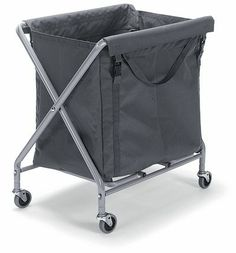 150L: The biggest laundry hamper I can manoeuvre in the utility room