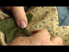▶ How to Applique Inside Points with Jan Patek - YouTube