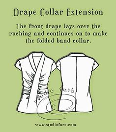Pattern Puzzle - Drape Collar Extension