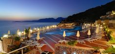 Overlooking the Cretan blue waters, tihs Resort provides high quality hospitality, service, politeness and smile are the features experienced by guests who honor us by their choice. Spa Hotel, 5 Star Resorts, Crete Island, Crete Greece, Resort Spa, Building, Beach, Water, Outdoor Decor