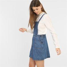 Robe salopette en jean - Collection Robe en jean - Pimkie France