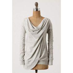 Swept Swag Sweatshirt ($40) ❤ liked on Polyvore