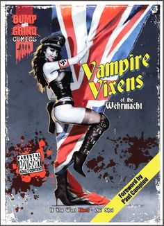 Assorted Thoughts From An Unsorted Mind: Comic: Vampire Vixens Of The Wehrmacht (2013)