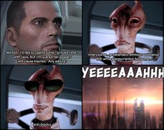 Made my day! Mass Effect humour.
