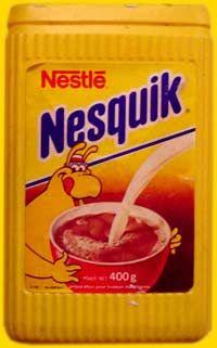 Nesquik ... sur les tartines de beurre