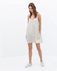 Zara.  #dress #affordable