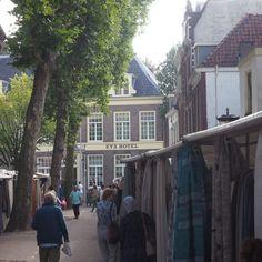 Hotel direkt am Stoffmarkt in Utrecht!