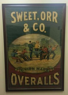 Rare Original Sweet, Orr & Co. Ice Cream Parlor, Display Cases, Store Displays, Vintage Country, Advertising Poster, General Store, Shop Signs, Tins, Vintage Advertisements