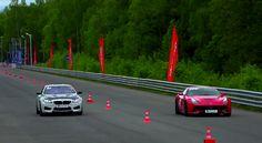 Drag Race: BMW M6 vs Ferrari F12 Berlinetta vs BMW M4 vs Audi S6 - http://www.bmwblog.com/2015/06/17/drag-race-bmw-m6-vs-ferrari-f12-berlinetta-vs-bmw-m4-vs-audi-s6/