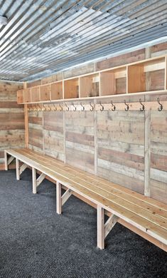Ana White | Easy Mudroom Benches or Locker Room Benches - DIY Projects