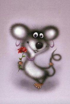 A little happy mouse