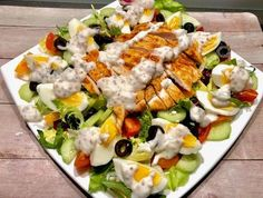 Tortellini, Tasty Dishes, Cobb Salad, Catering, Spaghetti, Food And Drink, Snacks, Dinner, Cooking