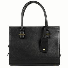 - DESCRIPTION - WARRANTY - NEED HELP? The NEW YORK style laptop bag is sleek and sophisticated and designed for the woman who never sleeps or has time to plan her outfits. For the power professional o
