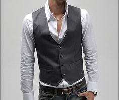 Fashion Classic Stylelish Gentleman Mens Vest by beatbbcustom, $29.00