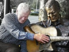 """Doc Watson, Boone. """"Let me keep my mind on what matters, which is my work, which is mostly standing still and learning to be astonished."""