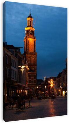 Zutphen in Holland in the evening.  Photography: Ada Zyborowicz  www.azfoto.nl