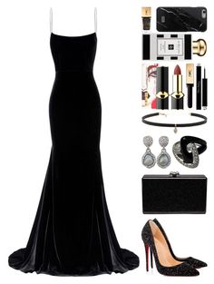 """""""#172"""" by theevilraccoon ❤ liked on Polyvore featuring Alex Perry, Christian Louboutin, Edie Parker, Carbon & Hyde, Pat McGrath, Yves Saint Laurent, Christian Dior, Jo Malone and Native Union"""