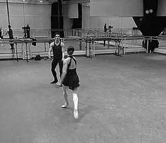 "thenextfamous: ""kingdomoftheballerino: "" Marianela Nunez and Federico Bonelli rehearsing Manon "" partnering goals """