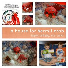 Adorable crafts to go along with some of my favorite Eric Carle books!
