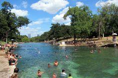 4. Do NOT swim at the Barton Springs pool