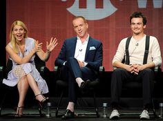 Homeland  Claire Danes  Damian Lewis and Rupert Friend