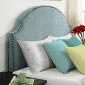 Found it at Wayfair - Queen Upholstered Headboard - Only $164.95 and comes in a softer gray.