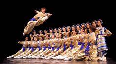 Ukrainian dance - the Hopak